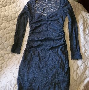 International Black Lace Dress, size M